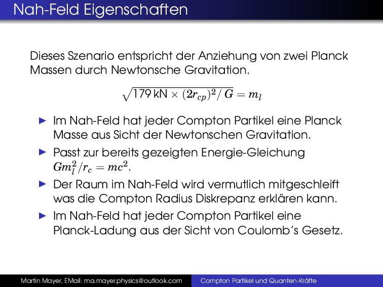 Nah-Feld Eigenschaften Dieses Szenario entspric...