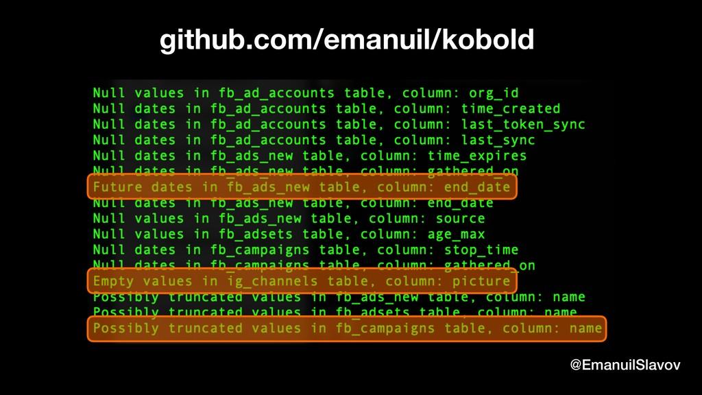 @EmanuilSlavov github.com/emanuil/kobold