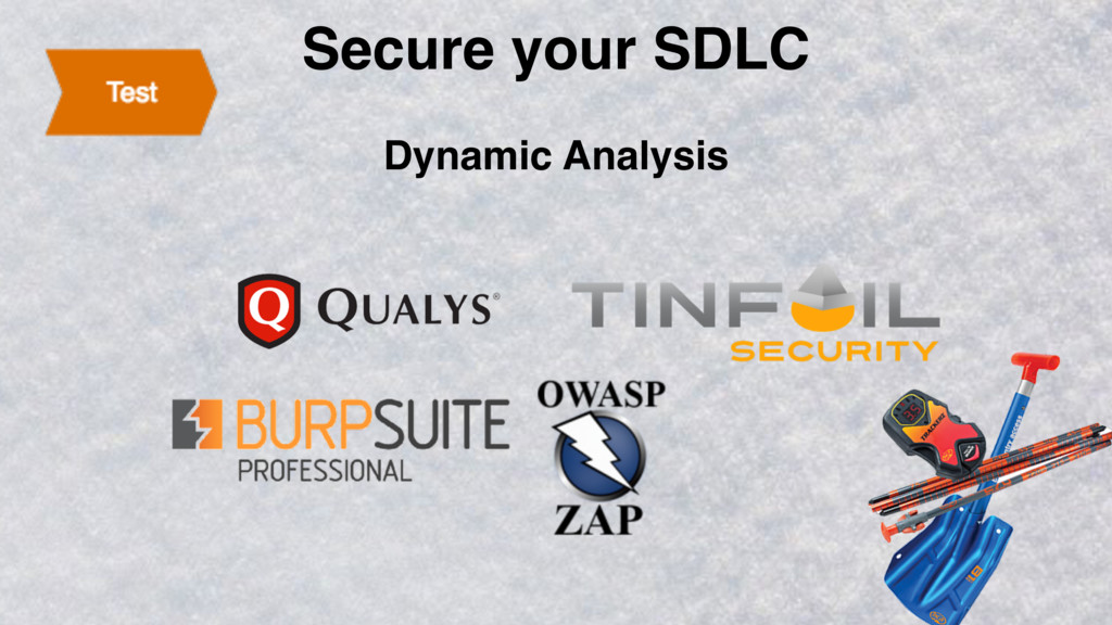 Secure your SDLC Dynamic Analysis