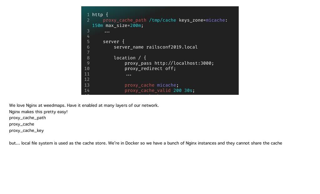 http { proxy_cache_path /tmp/cache keys_zone=m...