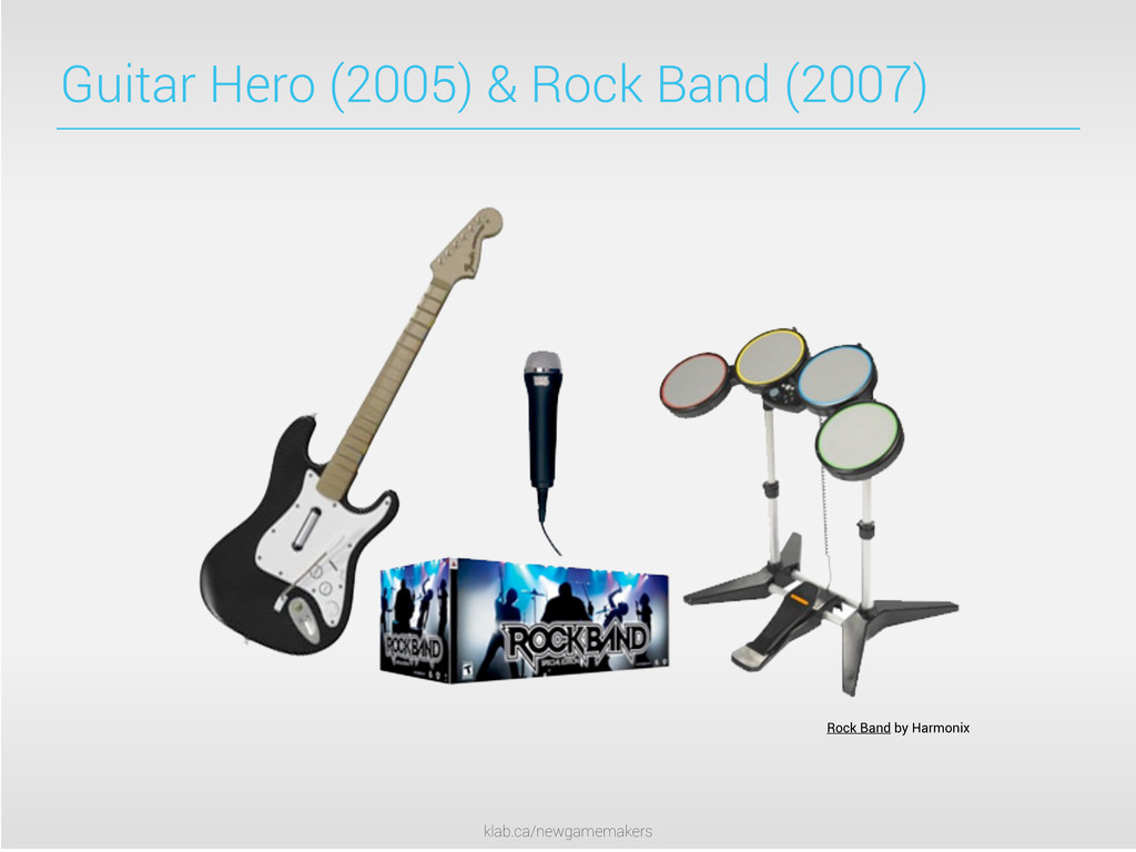 klab.ca/newgamemakers Guitar Hero (2005) & Rock...