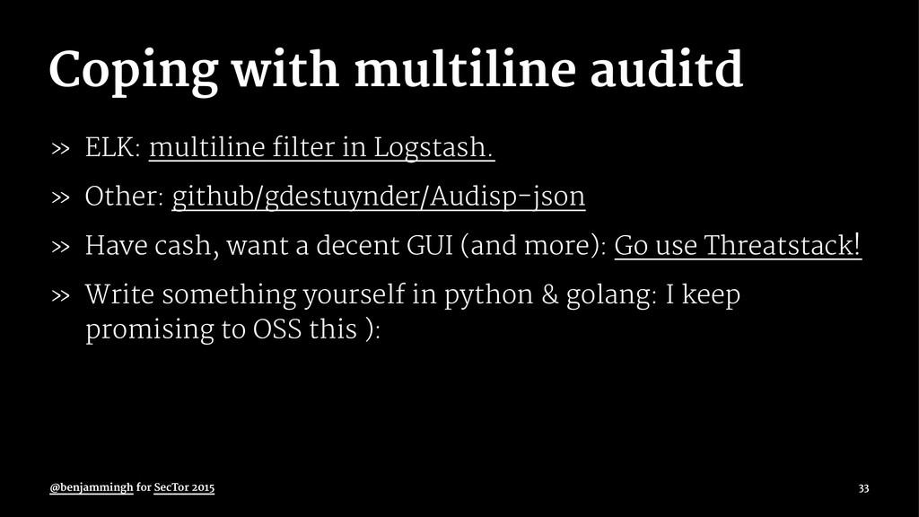 Coping with multiline auditd » ELK: multiline f...