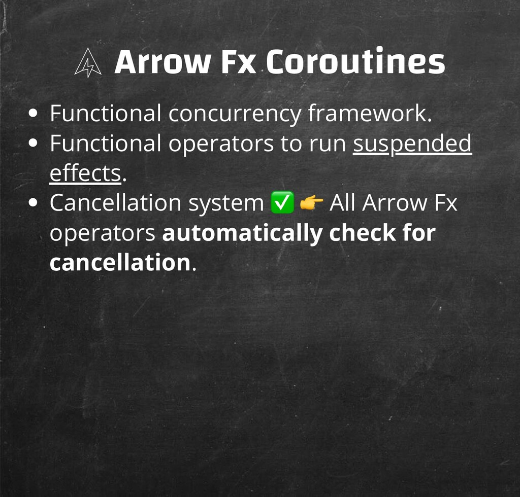 Arrow Fx Coroutines Functional concurrency fram...