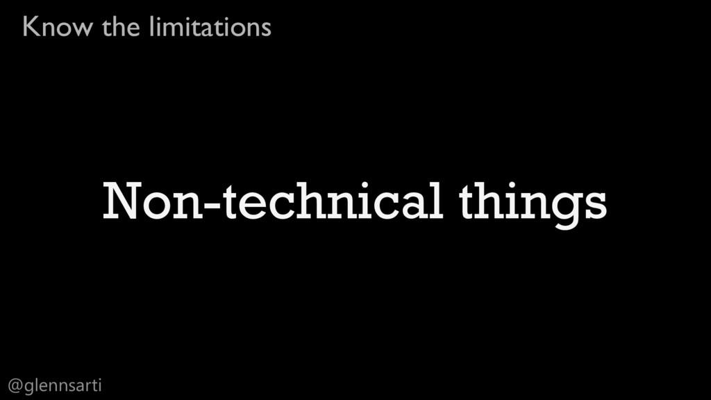 @glennsarti Know the limitations Non-technical ...