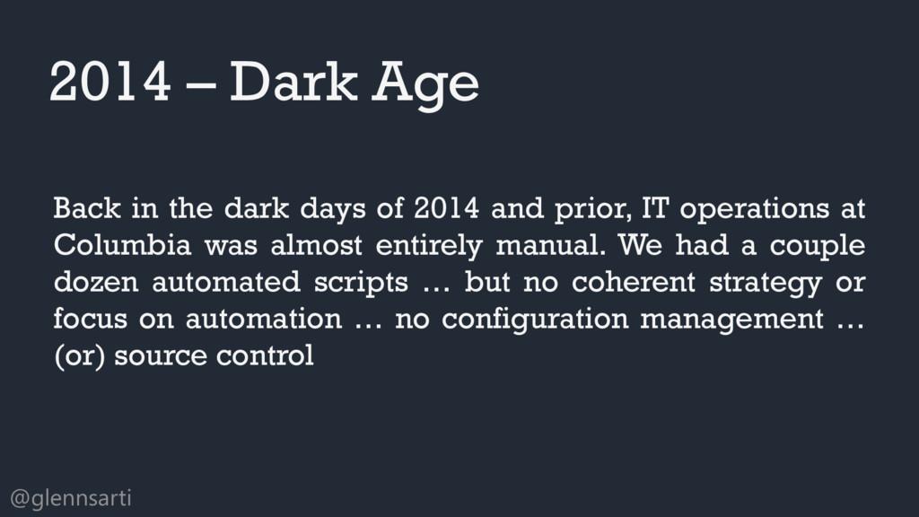 @glennsarti Back in the dark days of 2014 and p...
