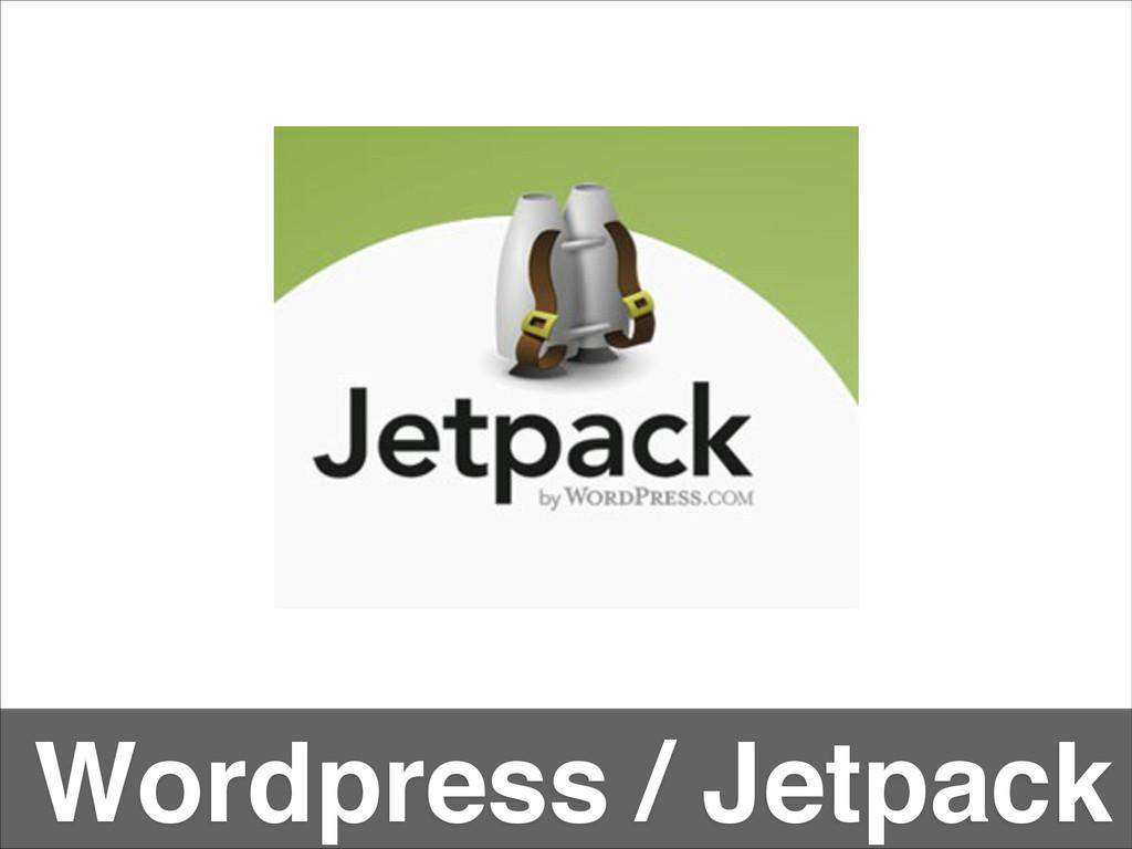 Wordpress / Jetpack