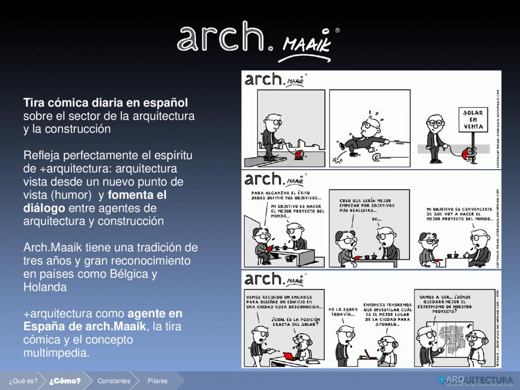 Tira cómica diaria en español sobre el sector d...