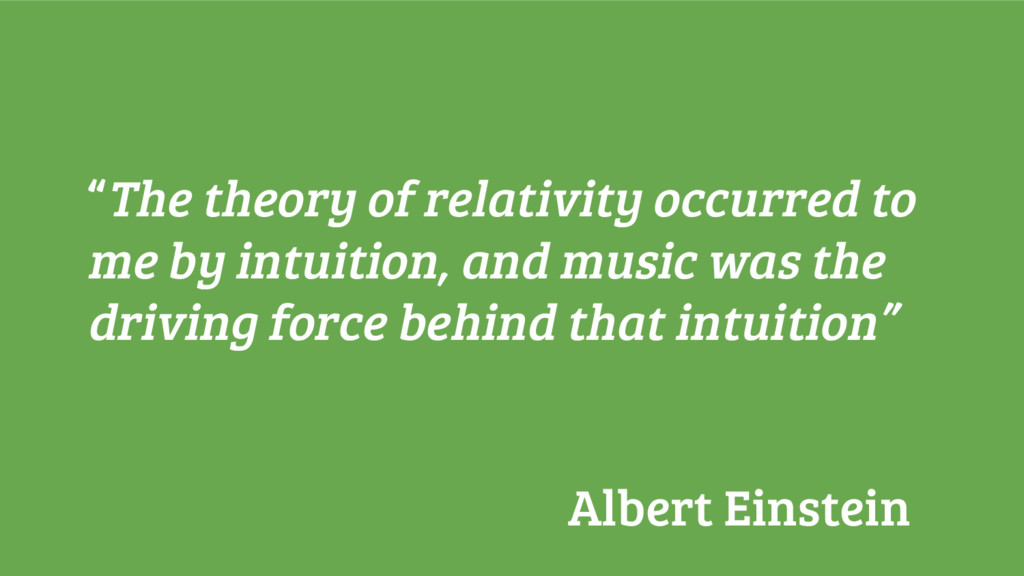 """""""The theory of relativity occurred to me by int..."""