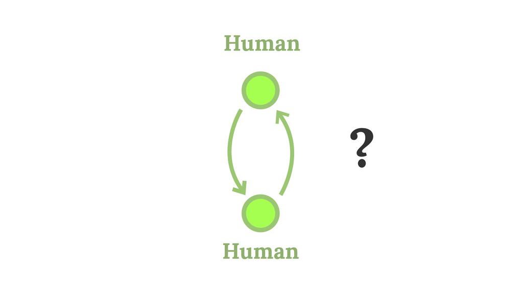Human Human ?