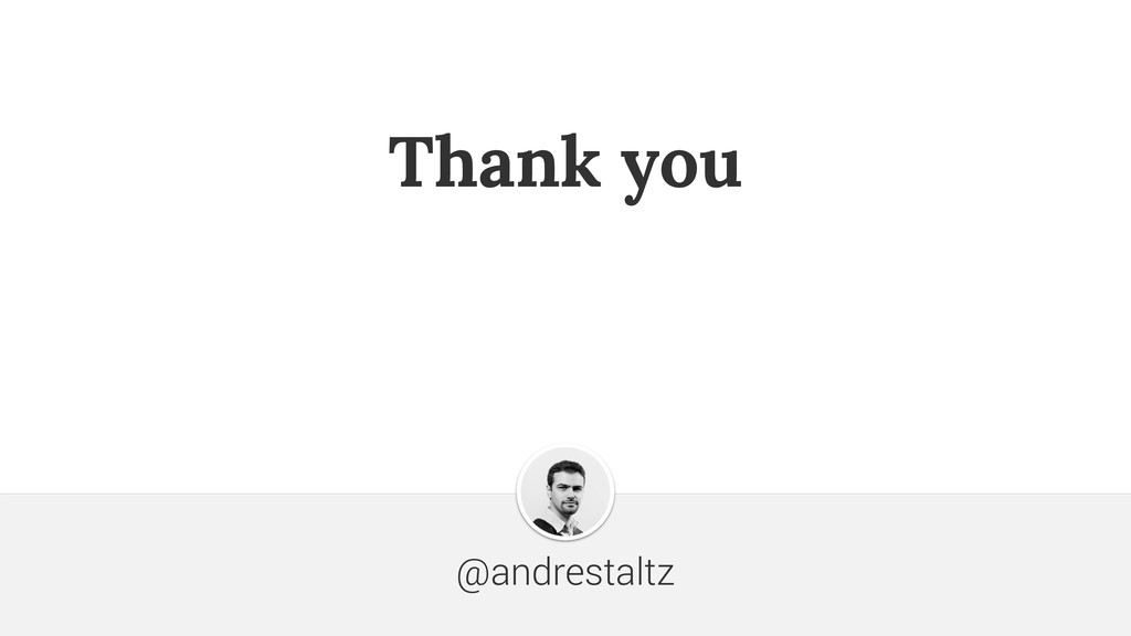Thank you @andrestaltz