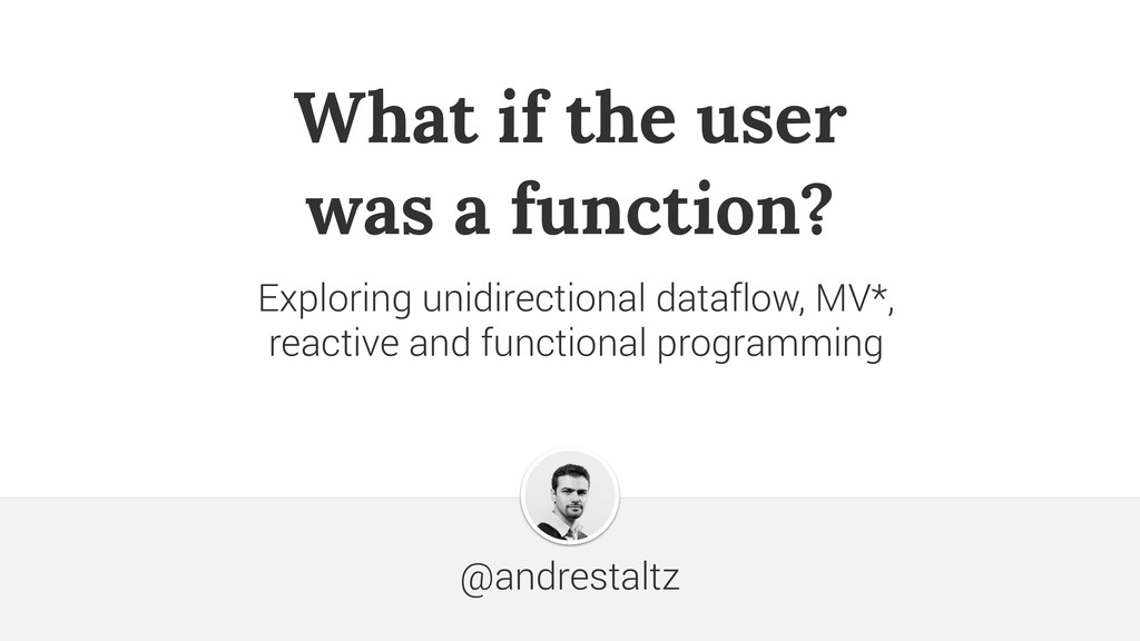 What if the user