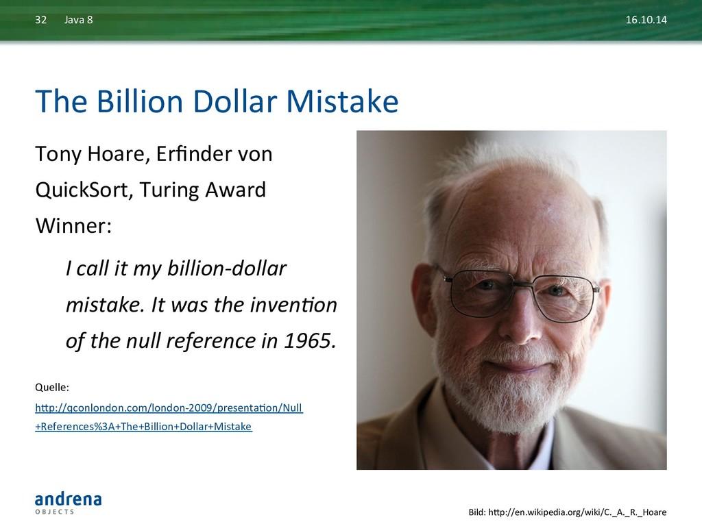The Billion Dollar Mistake  Tony ...