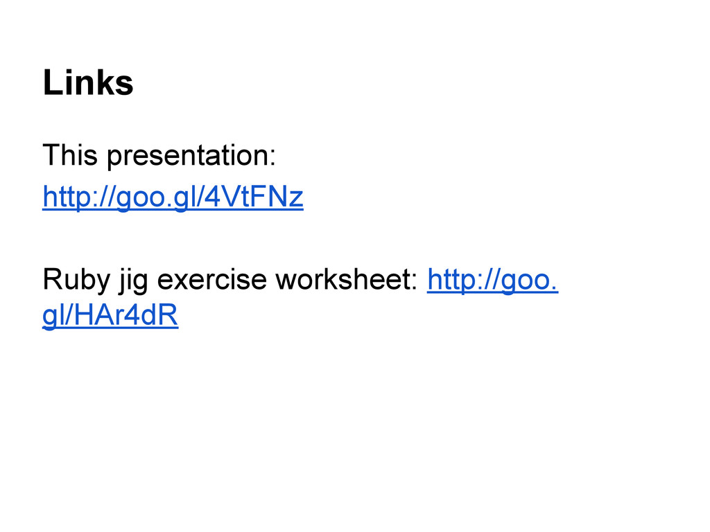 Links This presentation: http://goo.gl/4VtFNz R...