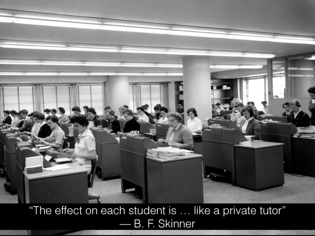 """""""The effect on each student is … like a private..."""