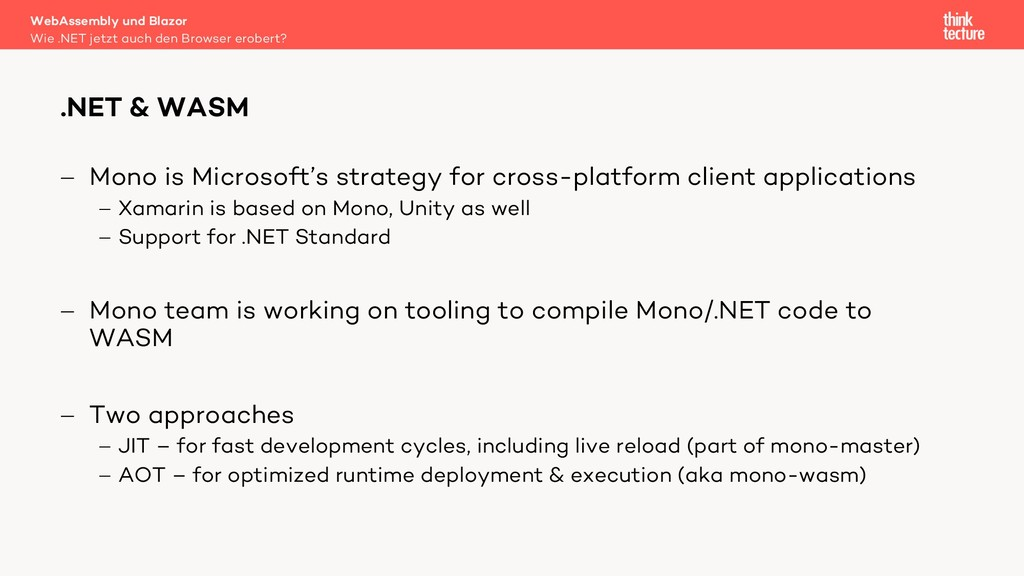 - Mono is Microsoft's strategy for cross-platfo...