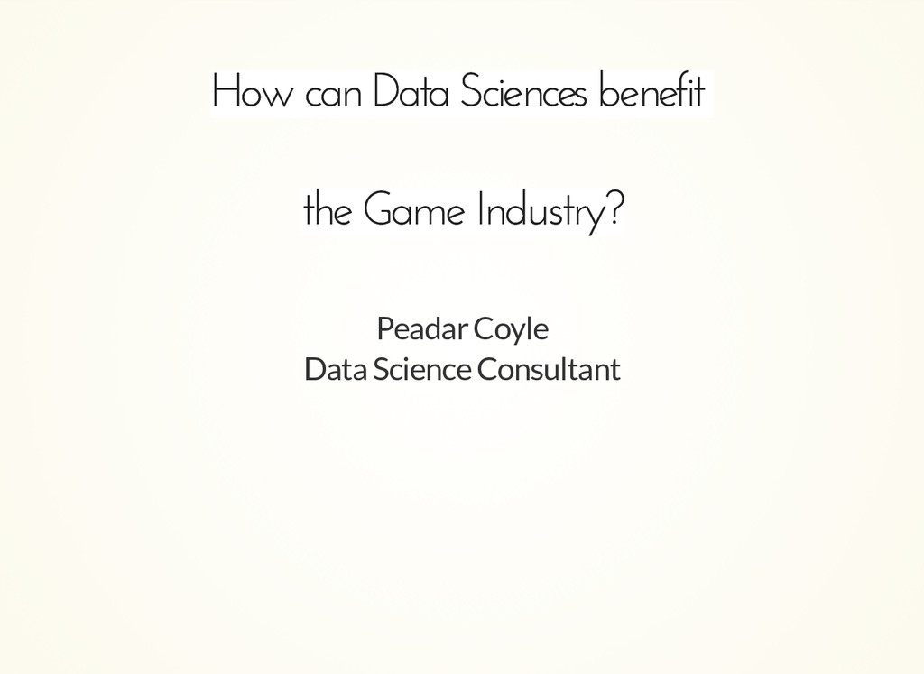 How can Data Sciences benefit How can Data Scie...