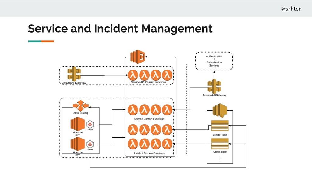 @srhtcn Service and Incident Management