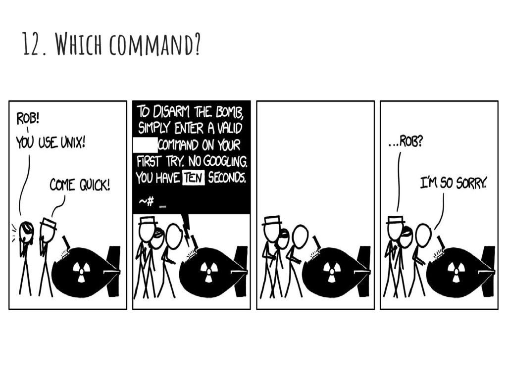 12. Which command?