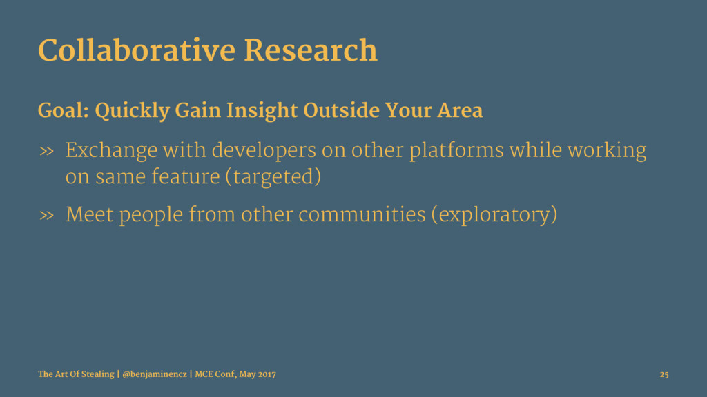 Collaborative Research Goal: Quickly Gain Insig...