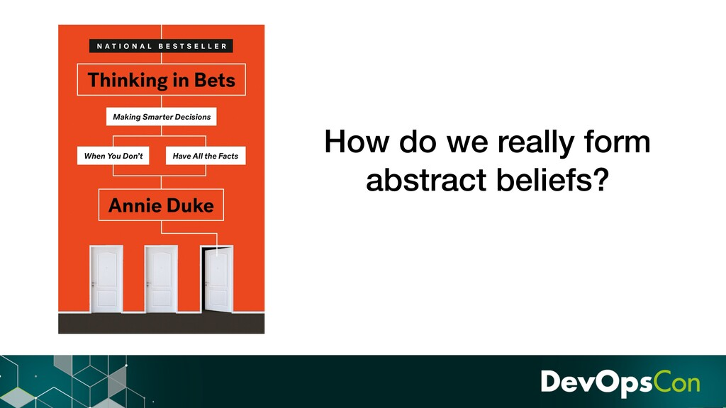 How do we really form abstract beliefs?