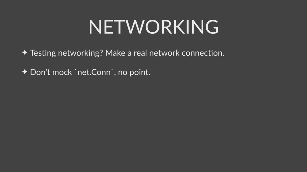 ✦ TesSng networking? Make a real network connec...