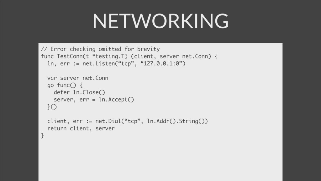 NETWORKING // Error checking omitted for brevit...
