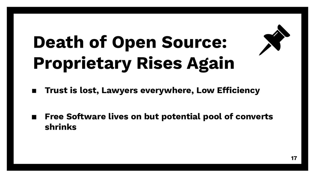 Death of Open Source: Proprietary Rises Again ▪...