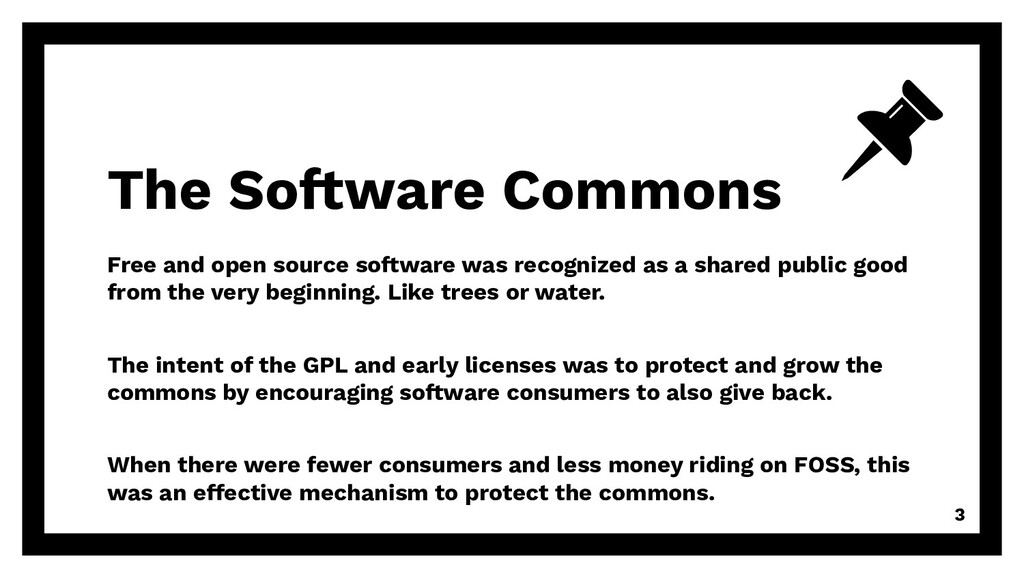 Free and open source software was recognized as...