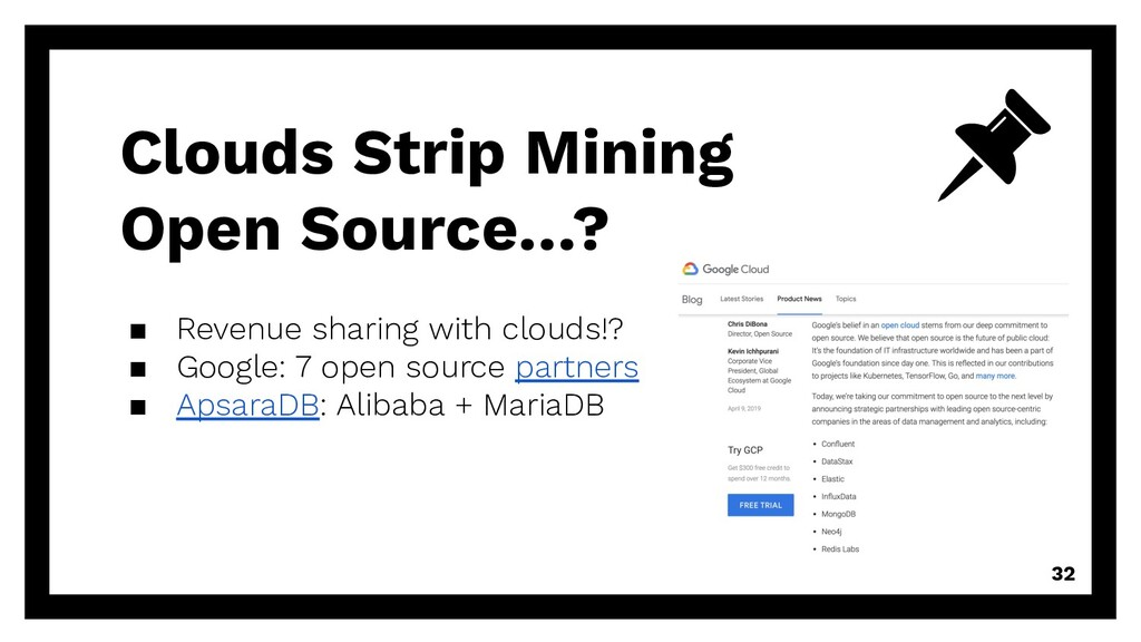 Clouds Strip Mining Open Source…? ▪ Revenue sha...