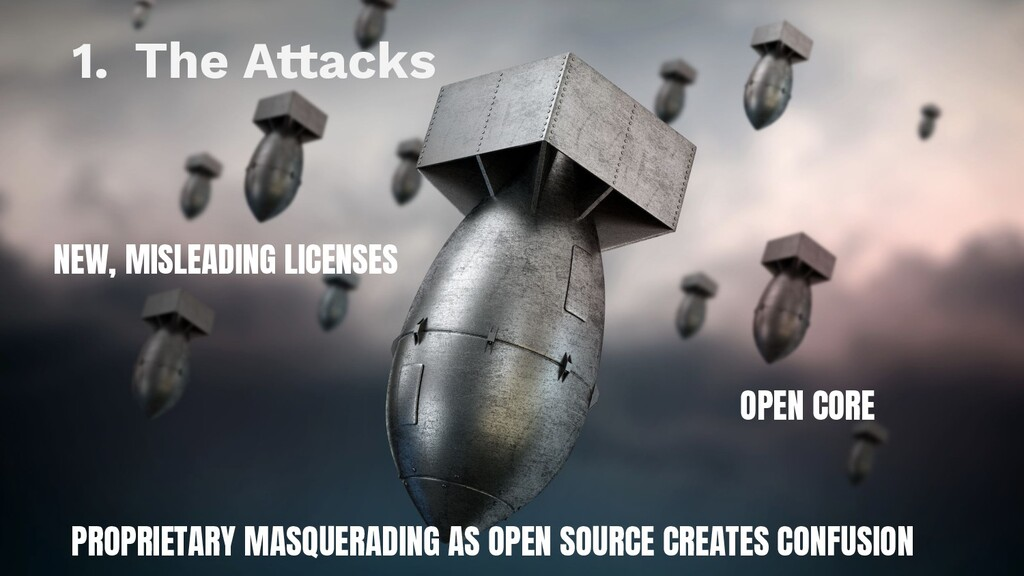 9 1. The Attacks NEW, MISLEADING LICENSES OPEN ...