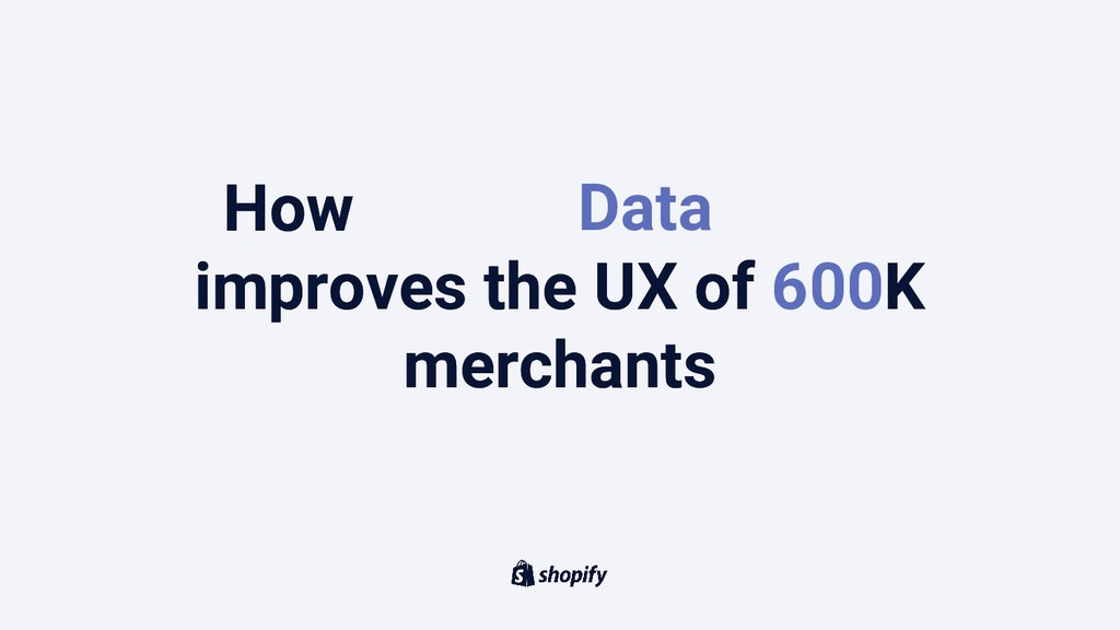How Machine Learning improves the UX of 500K me...