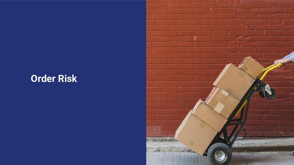 Order Risk