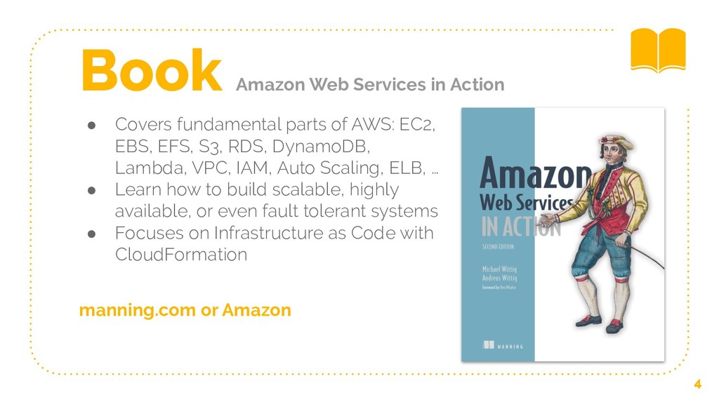 ● Covers fundamental parts of AWS: EC2, EBS, EF...