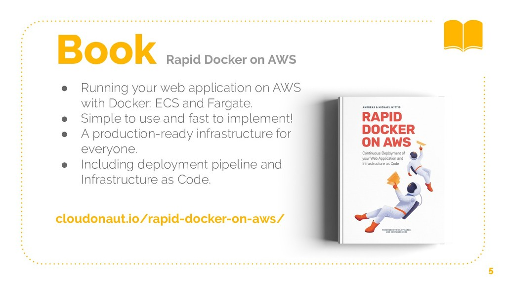 ● Running your web application on AWS with Dock...