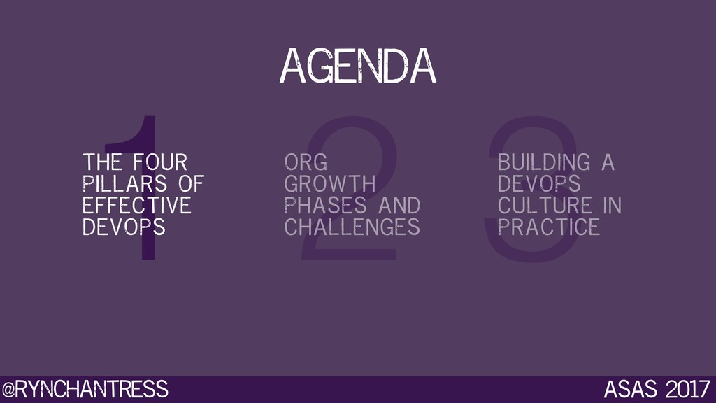@rynchantress 3 2 1 ASAS 2017 agenda THE FOUR P...