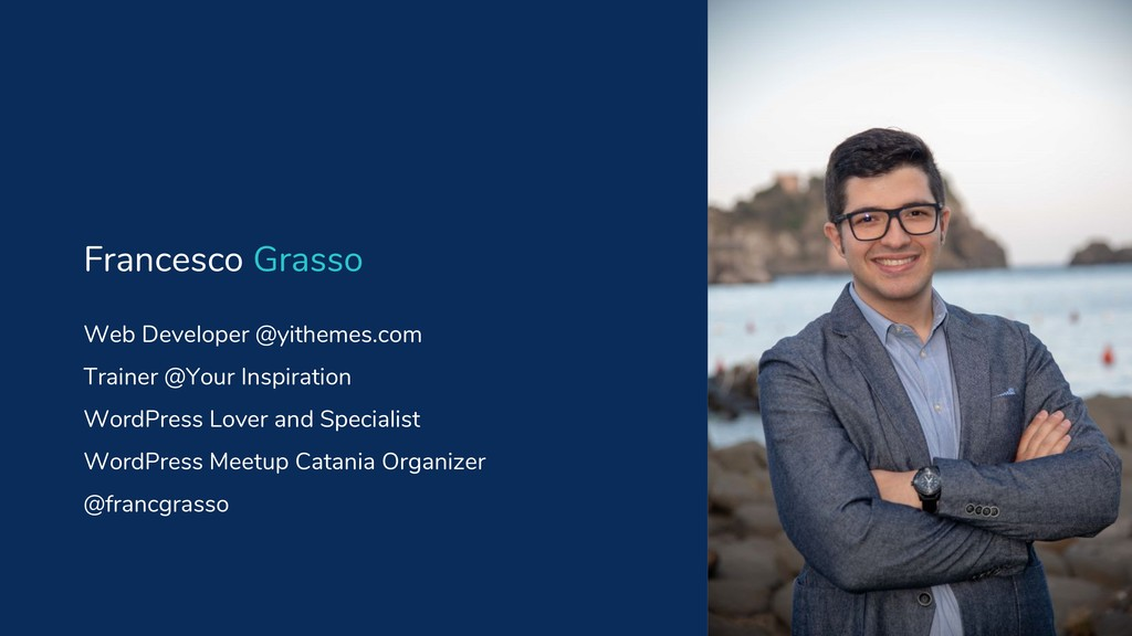 Web Developer @yithemes.com Trainer @Your Inspi...