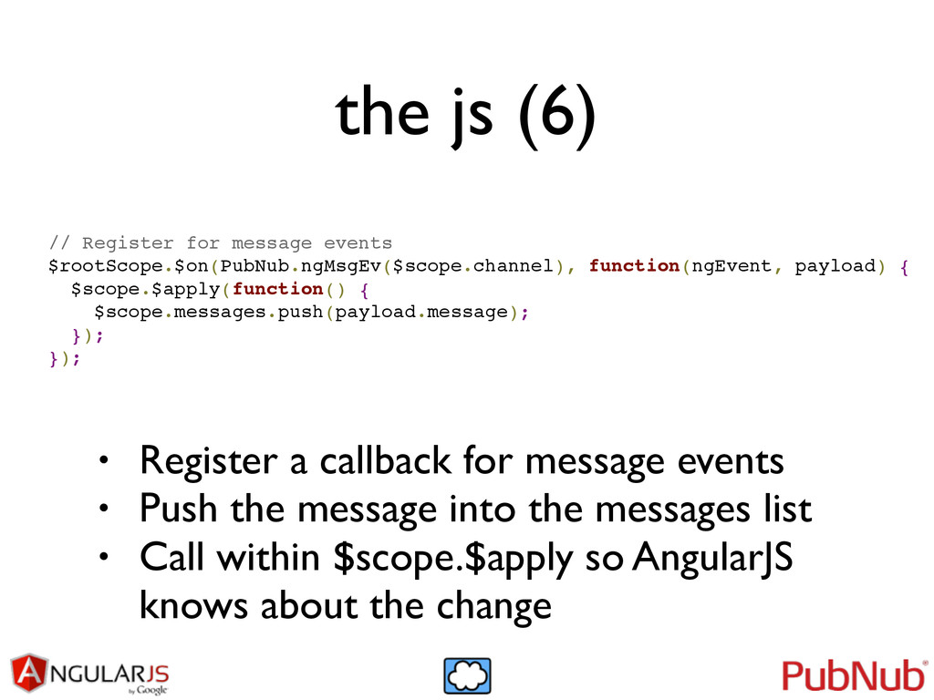 the js (6) // Register for message events! $roo...