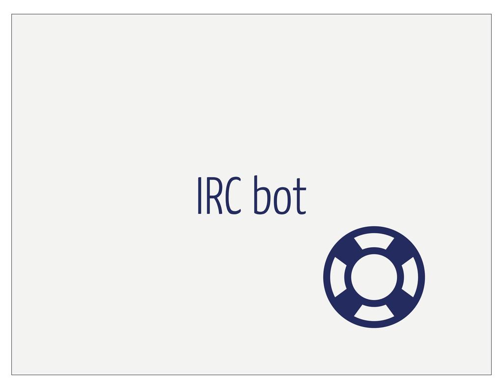 IRC bot
