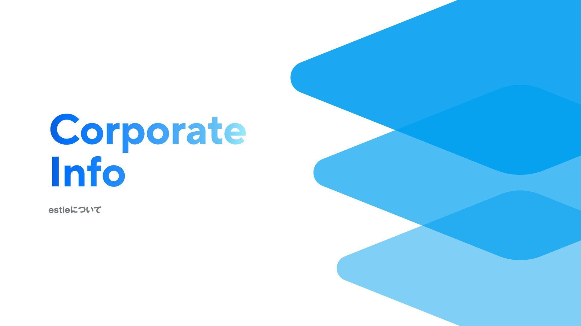 目次 1. 会社概要 3. チーム紹介 2. 事業紹介 4. メッセージ ©︎ 2020 es...