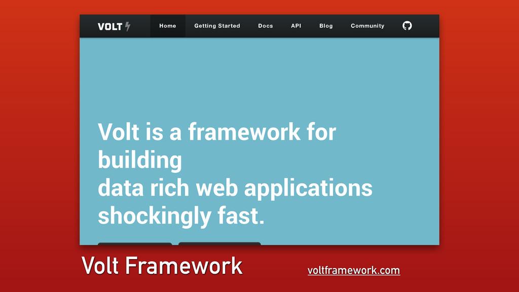 voltframework.com Volt Framework Volt is a fram...