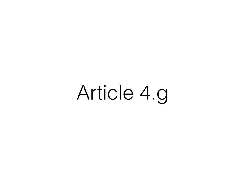 Article 4.g