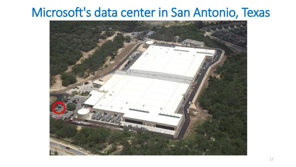 Microsoft's data center in San Antonio, Texas 17