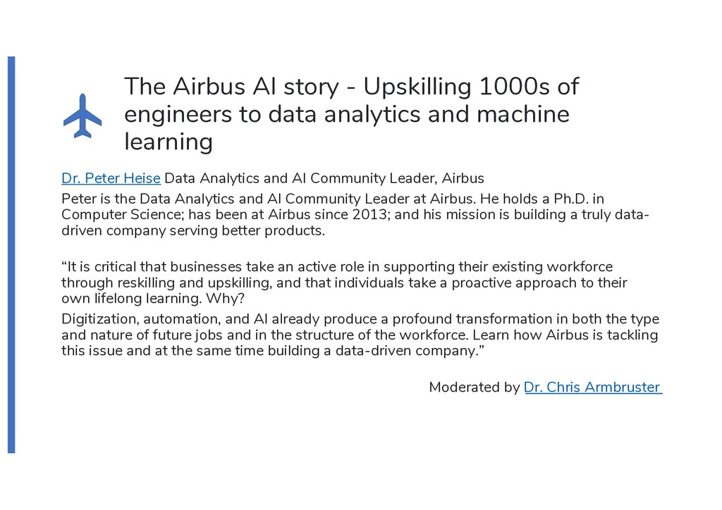 The Airbus AI story - Upskilling 1000s of engin...