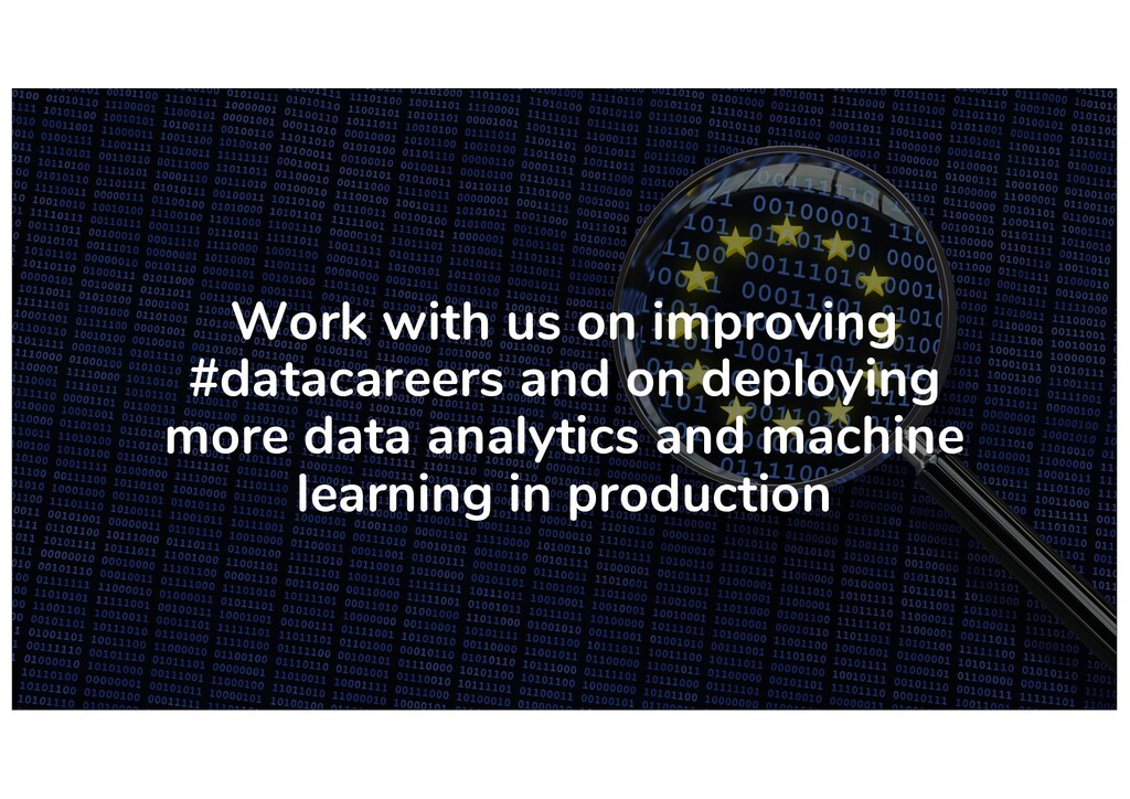 Work with us on improving #datacareers and on d...