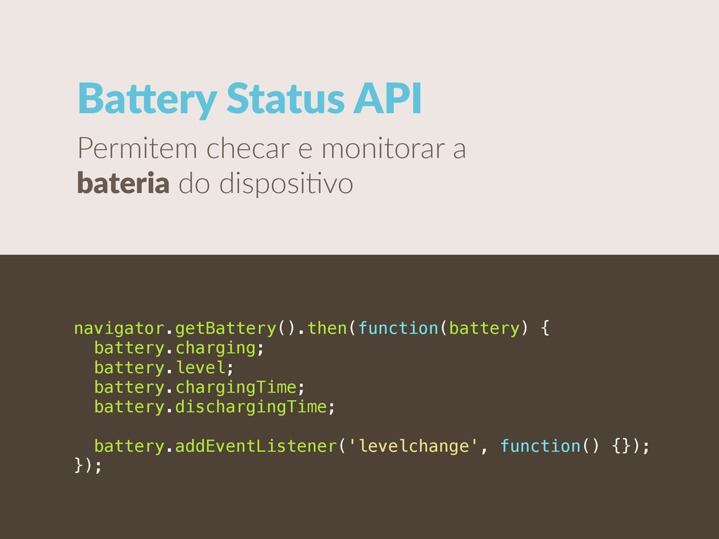 Baiery Status API Permitem checar e monito...