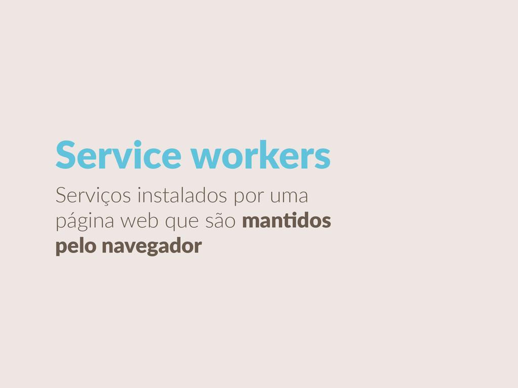 Serviços instalados por uma  página web q...