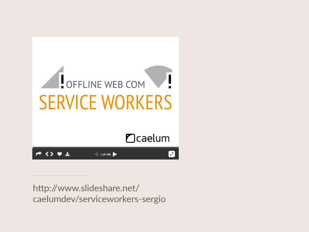 """h""""p:/ /www.slideshare.net/ caelumdev/servicewor..."""
