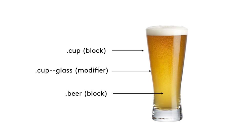 .cup (block) .cup--glass (modifier) .beer (bloc...