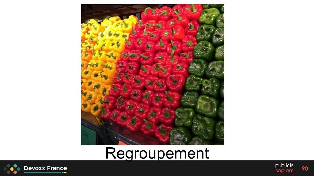 90 Regroupement