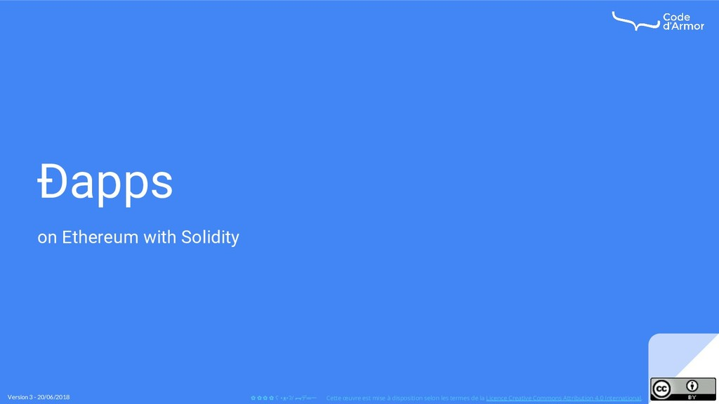 Ðapps on Ethereum with Solidity Version 3 - 20/...